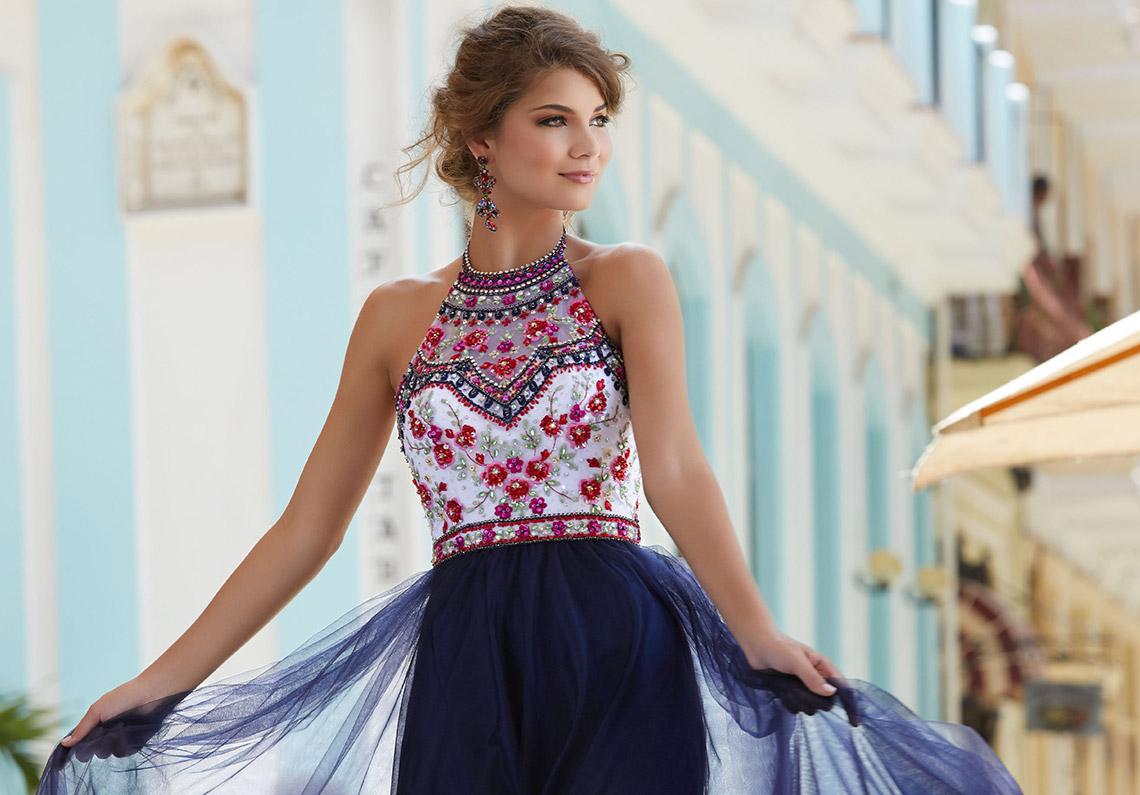 605db718b131 2019 Sherri Hill floral dress