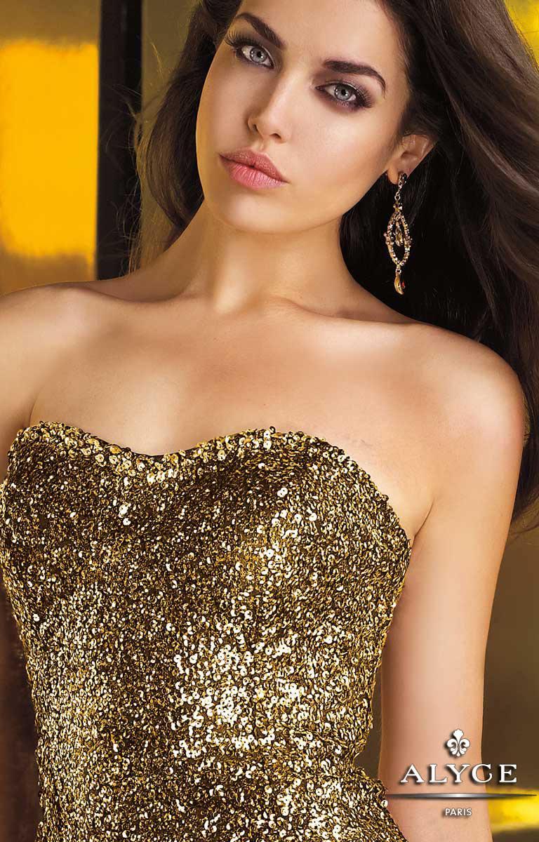 Sapphire Prom Dress Alyce 4342