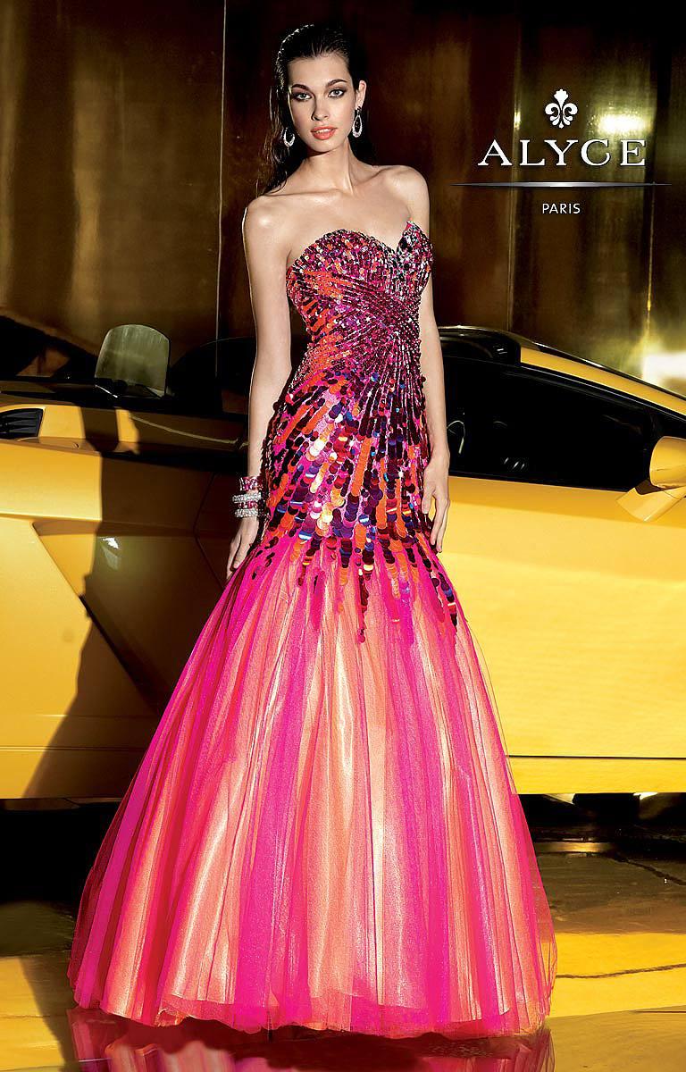 Alyce Paris 6015 Formal Evening Prom Dress