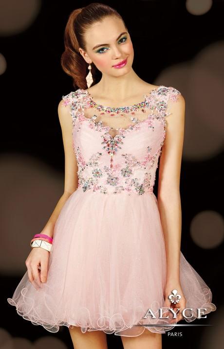 Alyce Paris 3593 - Barbie Doll Dress Prom Dress