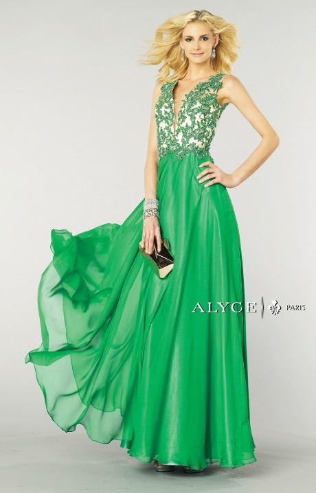 Alyce Paris 6418 Ivy Princess Dress Prom Dress