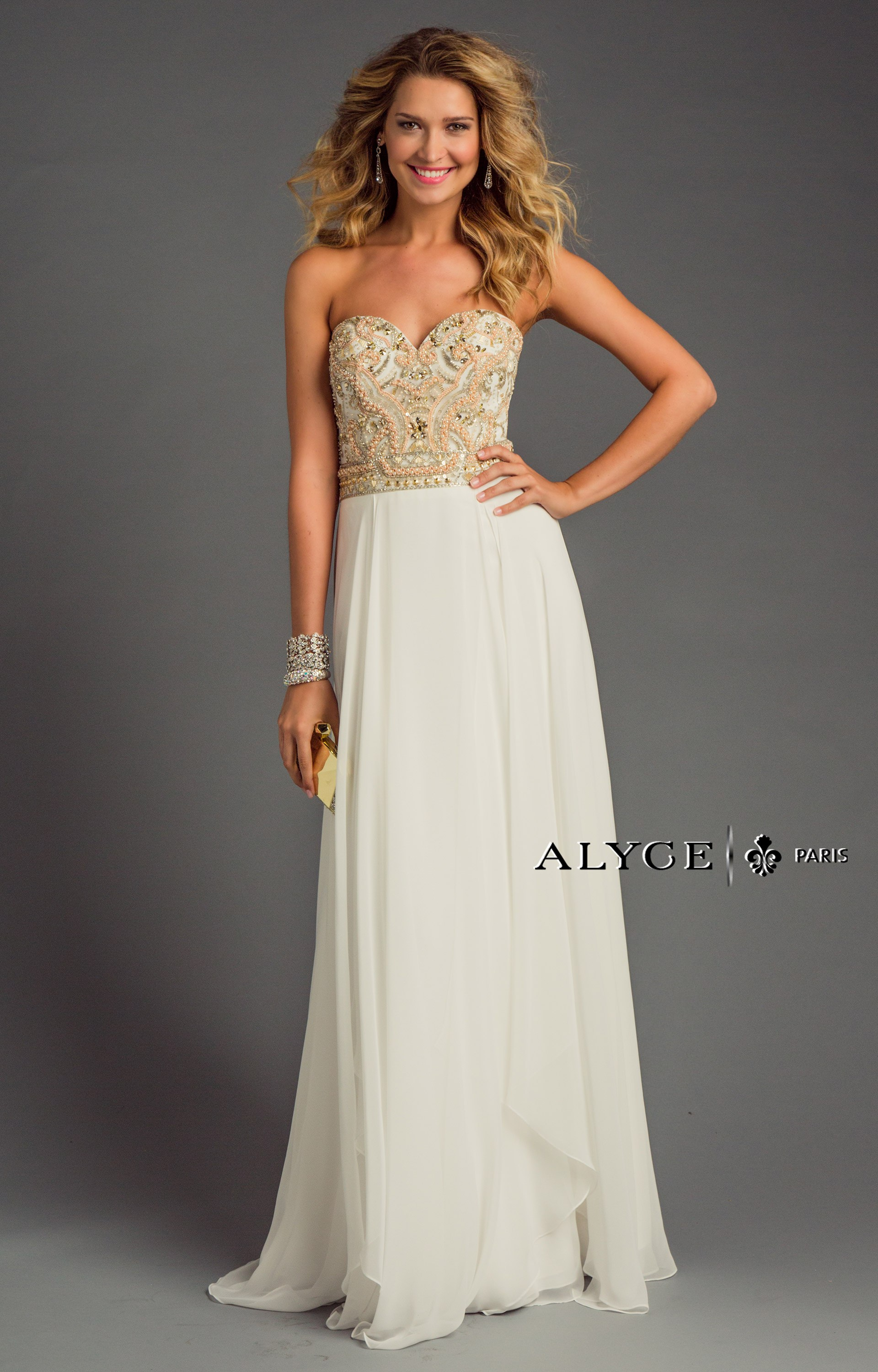Alyce Paris 6420 Delicate Daring Gown Prom Dress