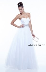 Alyce Paris 6388 Strapless and Sweetheart picture 1