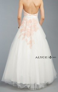 Alyce Paris 6423 Strapless and Sweetheart picture 1