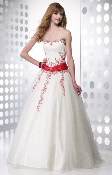 Alyce Paris 6495 Touch Of Red Dress Prom Dress
