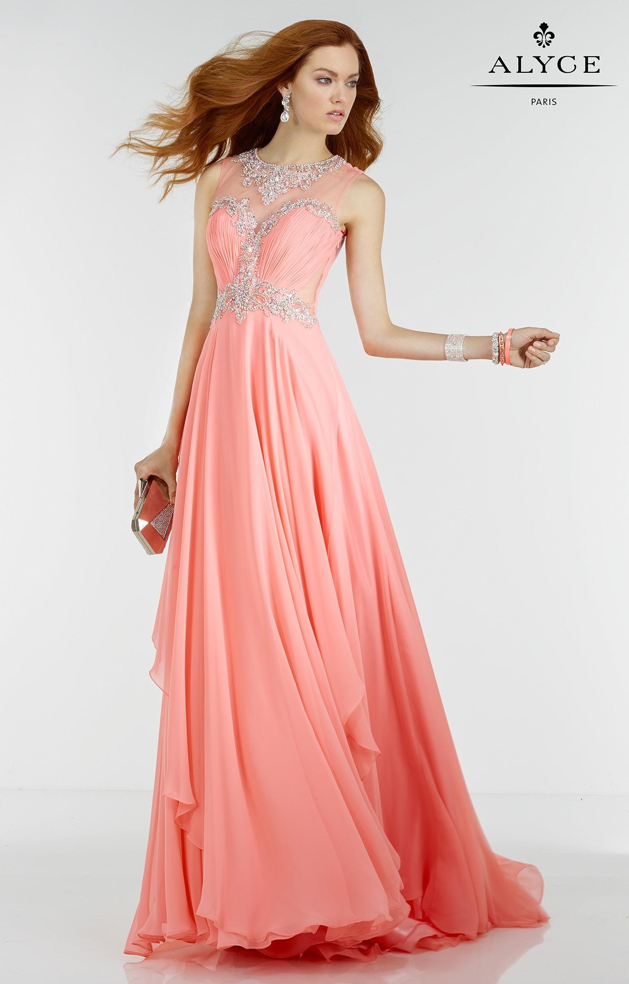 Alyce Paris 6544 - Barbie Doll Dress Prom Dress