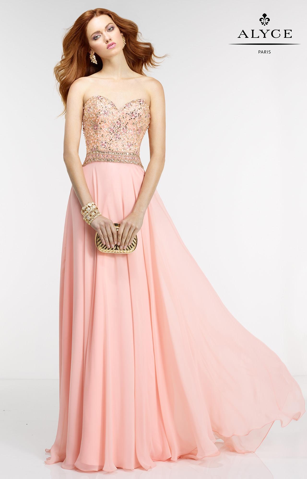 Vistoso Prom Vestidos Alyce Colección - Ideas de Estilos de Vestido ...