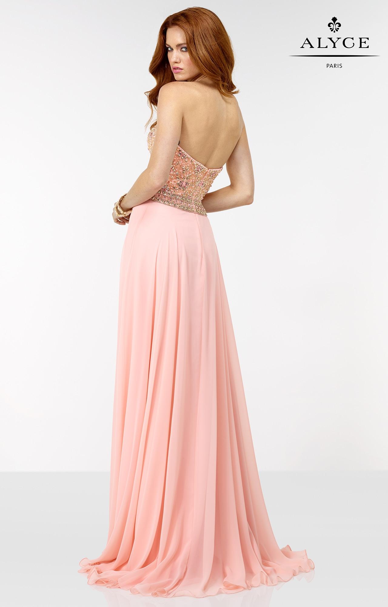 Alyce Paris 6571 - No Looking Back Dress Prom Dress