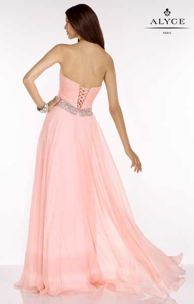 Alyce Paris 6604 Strapless and Sweetheart picture 1