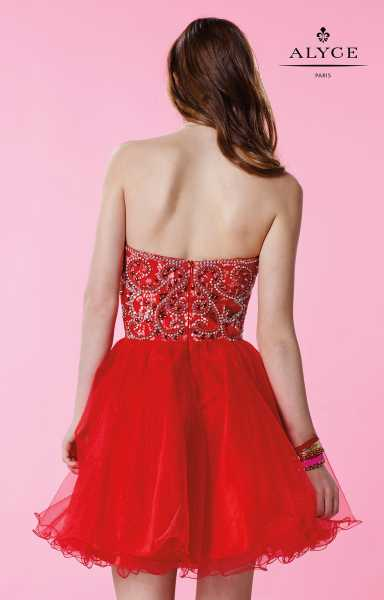Alyce Paris 3650 Strapless and Sweetheart picture 1