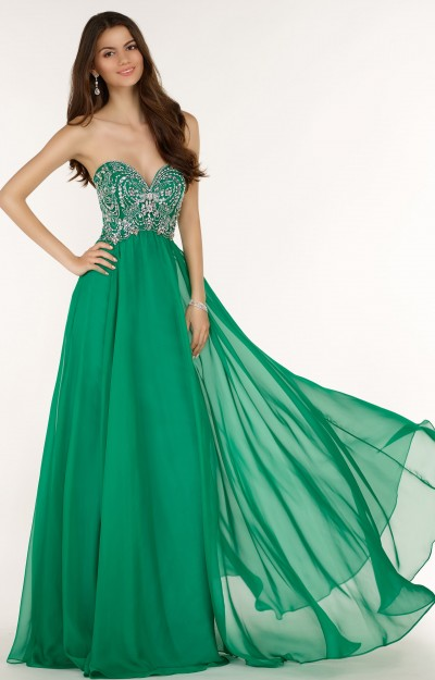 Green Dresses  Prom Formal Evening  Lime Mint Emerald