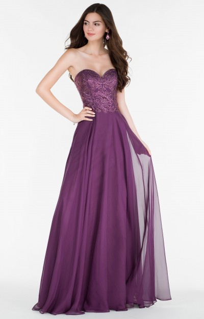 Purple Prom Dresses  Homecoming Lavender Lace Purple Gowns
