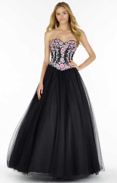 Alyce Paris 6800 Strapless and Sweetheart picture 1
