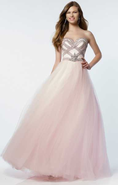 Alyce Paris 6729 Strapless and Sweetheart picture 1
