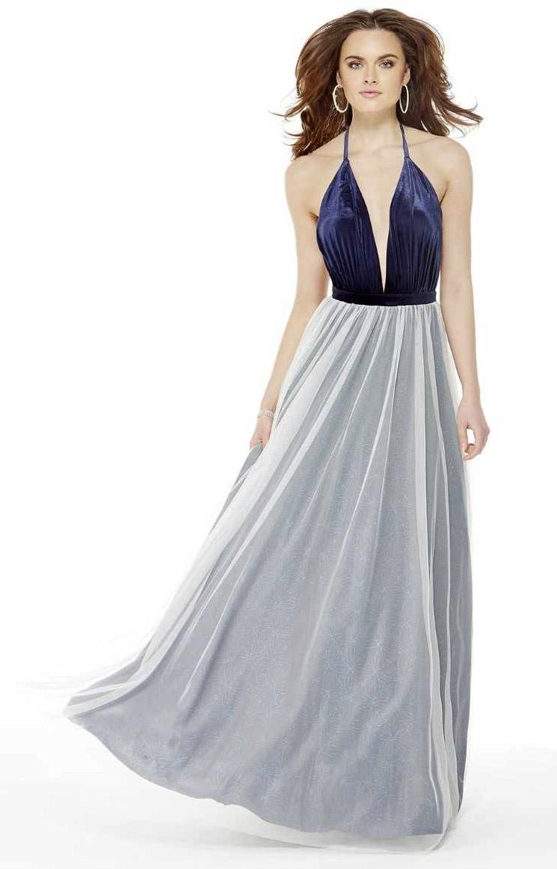 Alyce Paris KP104 - Halter Ballgown Prom Dress
