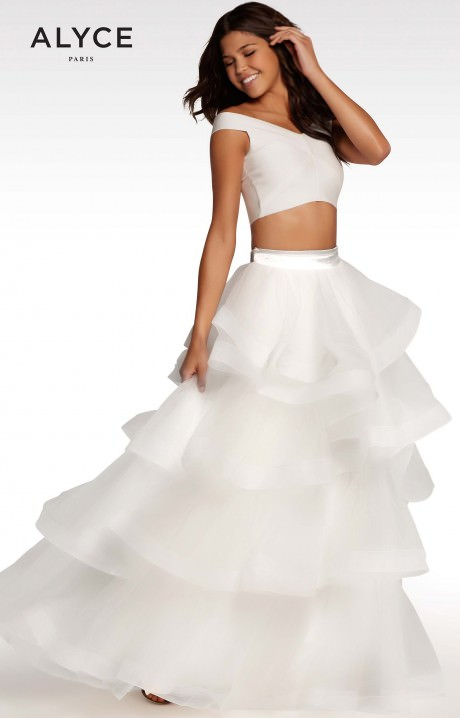 Alyce Paris KP122 - Two-Piece Ballgown Prom Dress