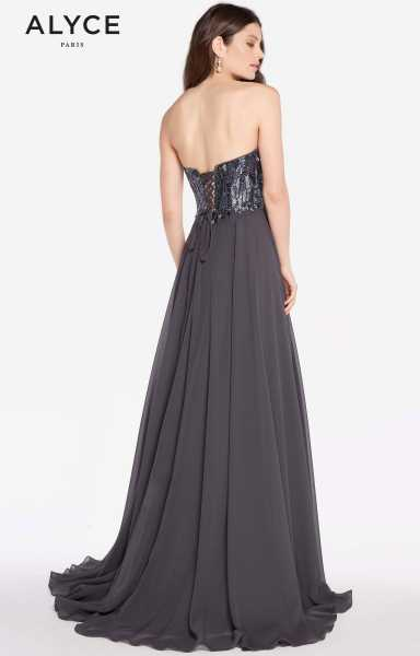 Alyce Paris 60050 Strapless and Sweetheart picture 1