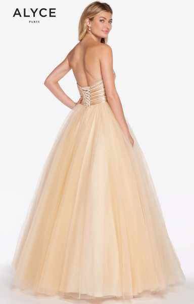Alyce Paris 60145 Strapless and Sweetheart picture 1