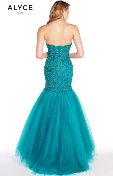 Alyce Paris 60229 Strapless and Sweetheart picture 1
