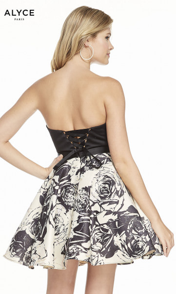 Alyce Paris 3898 Strapless and Sweetheart picture 1