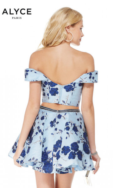 Alyce Paris 3775 Off The Shoulder picture 1