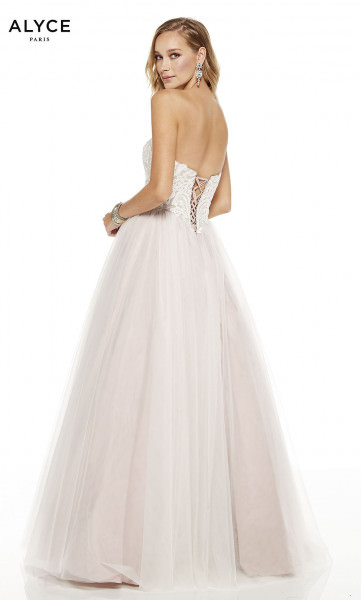 Alyce Paris 60617 Strapless and Sweetheart picture 1