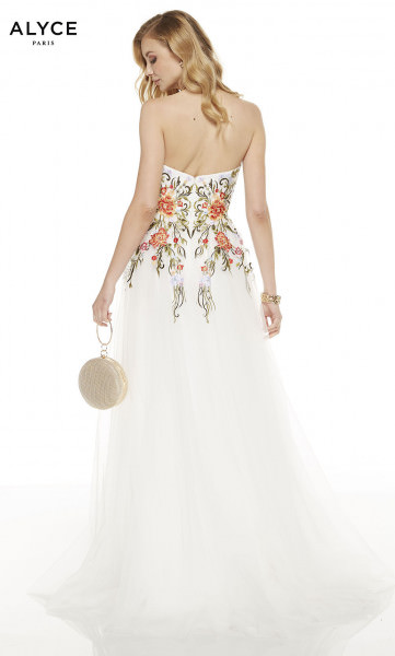 Alyce Paris 60699 Strapless and Sweetheart picture 1
