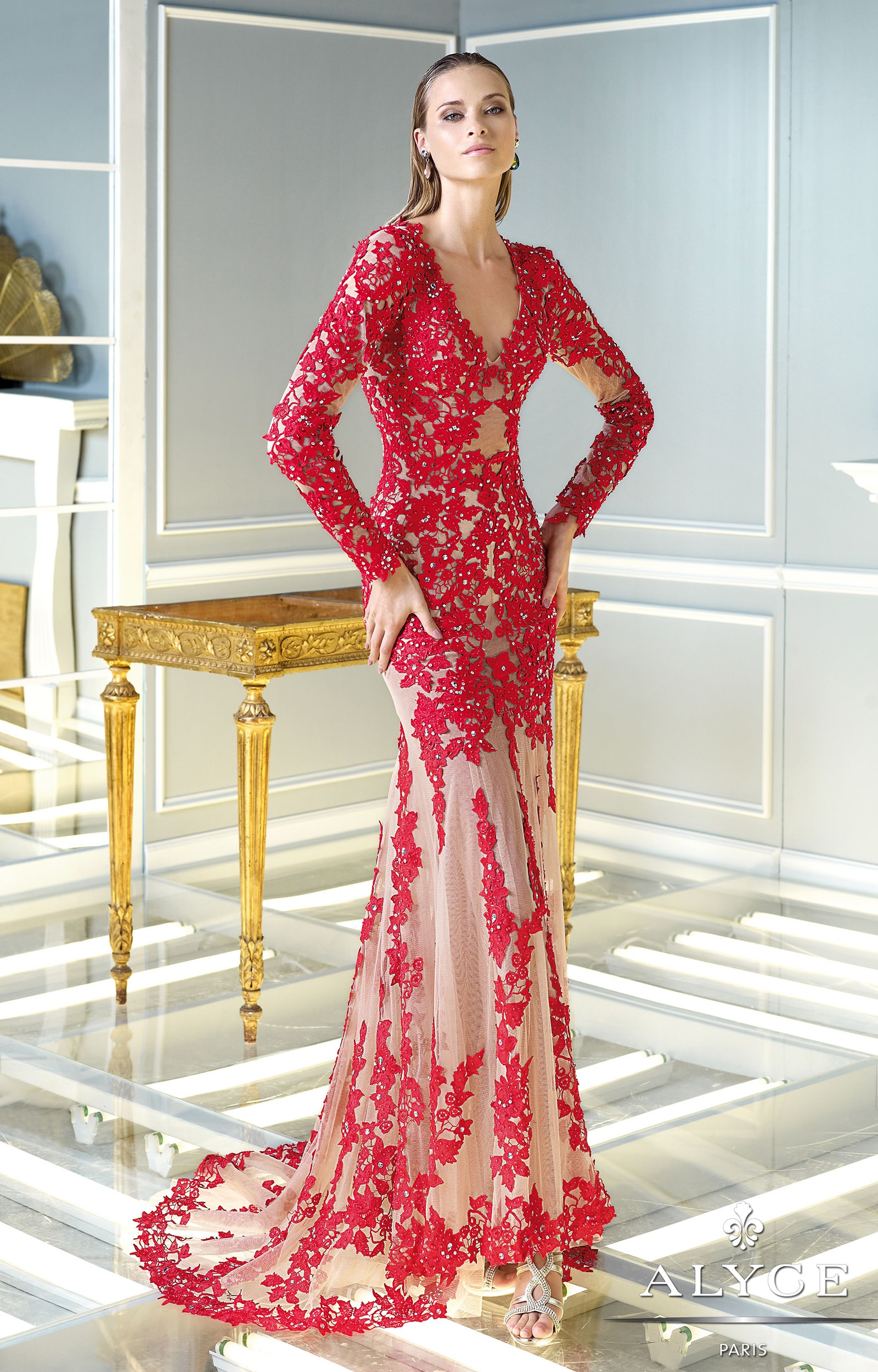 Claudine 2297 - Moulin Rouge Prom Dress