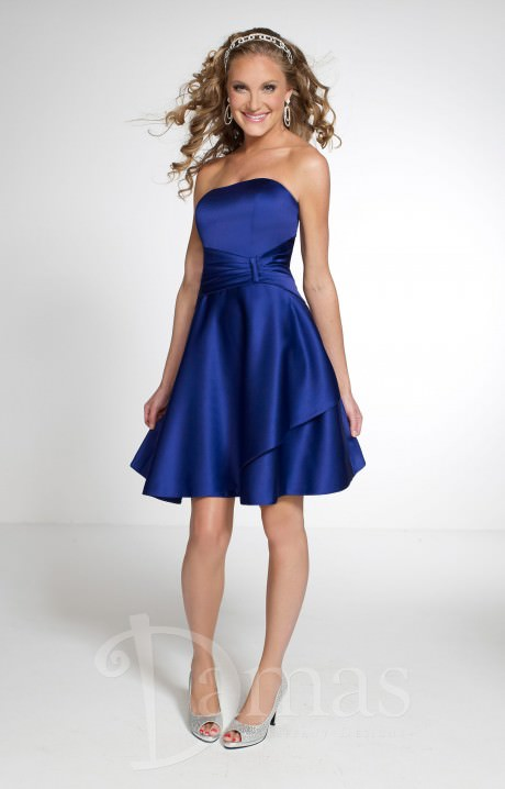 Damas 52302 Sweet In Satin Prom Dress