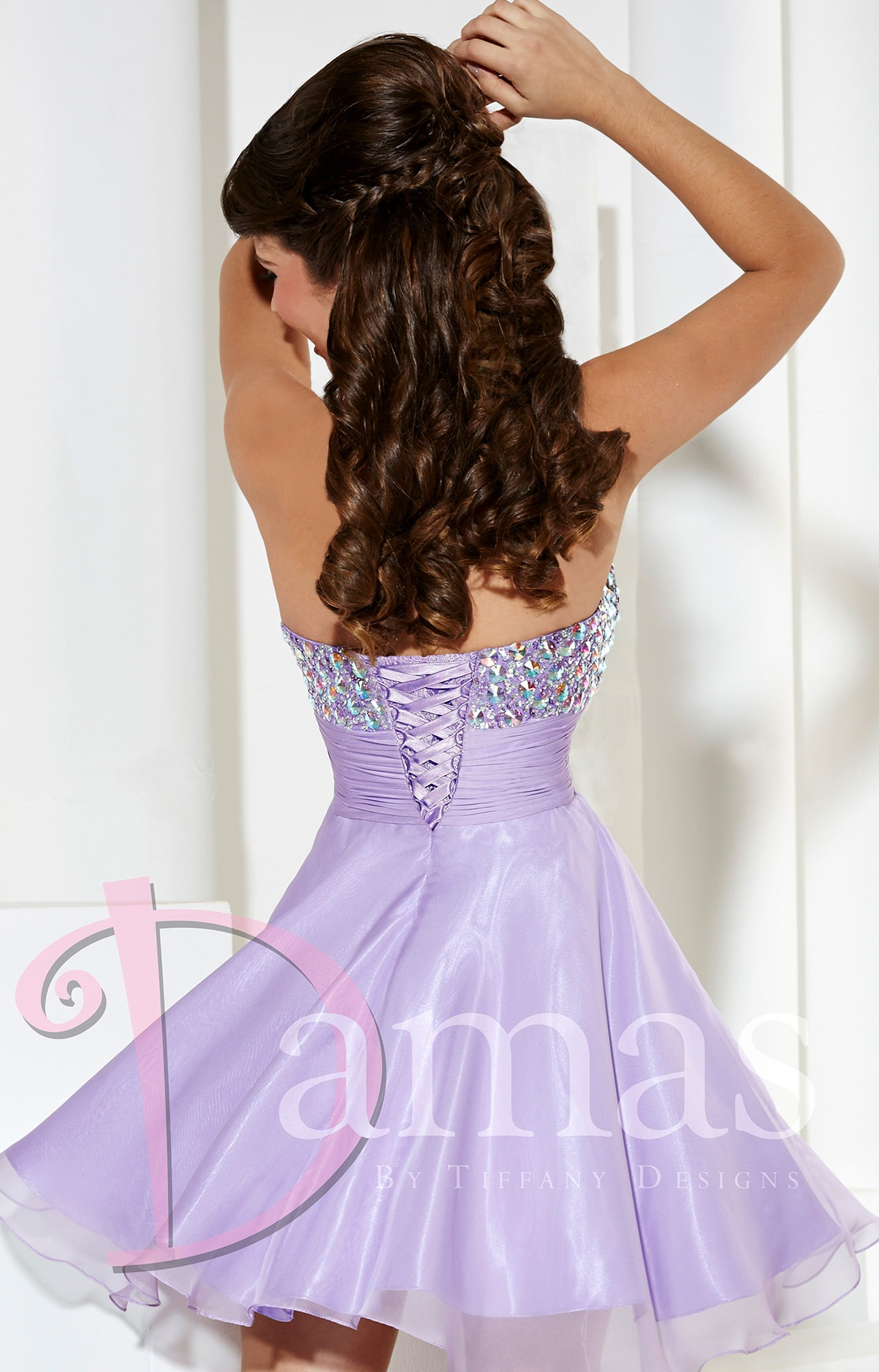 damas 52330   tinkerbell party dress prom dress