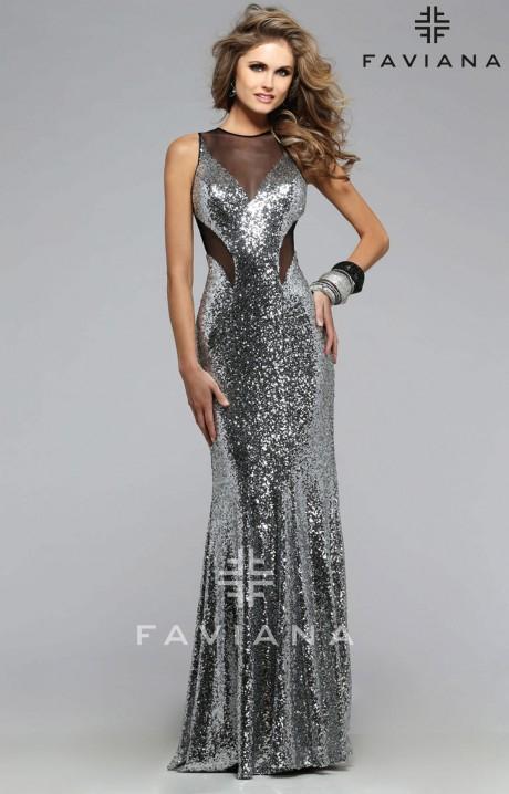 Faviana 7331 Shimmer And Shine Dress Prom Dress