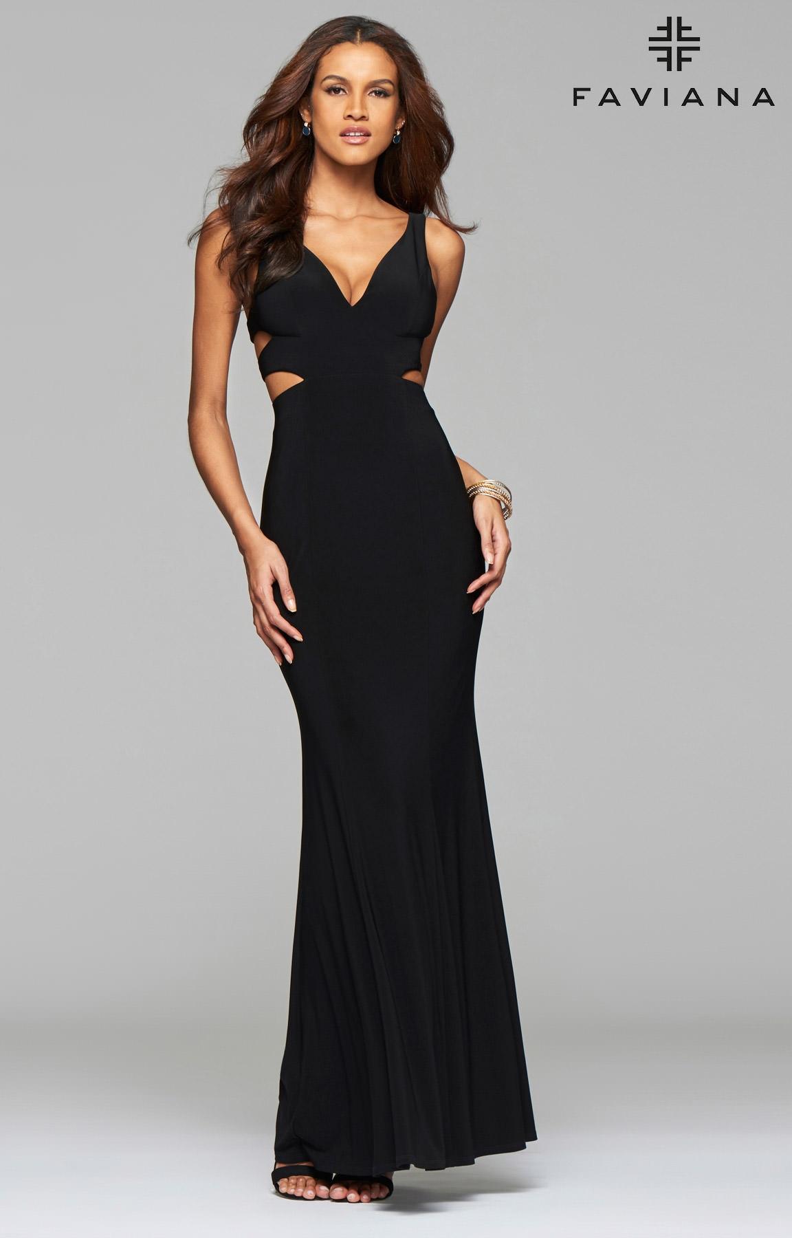 99f96afc7368 Faviana 7541 - Cut Me Up Dress