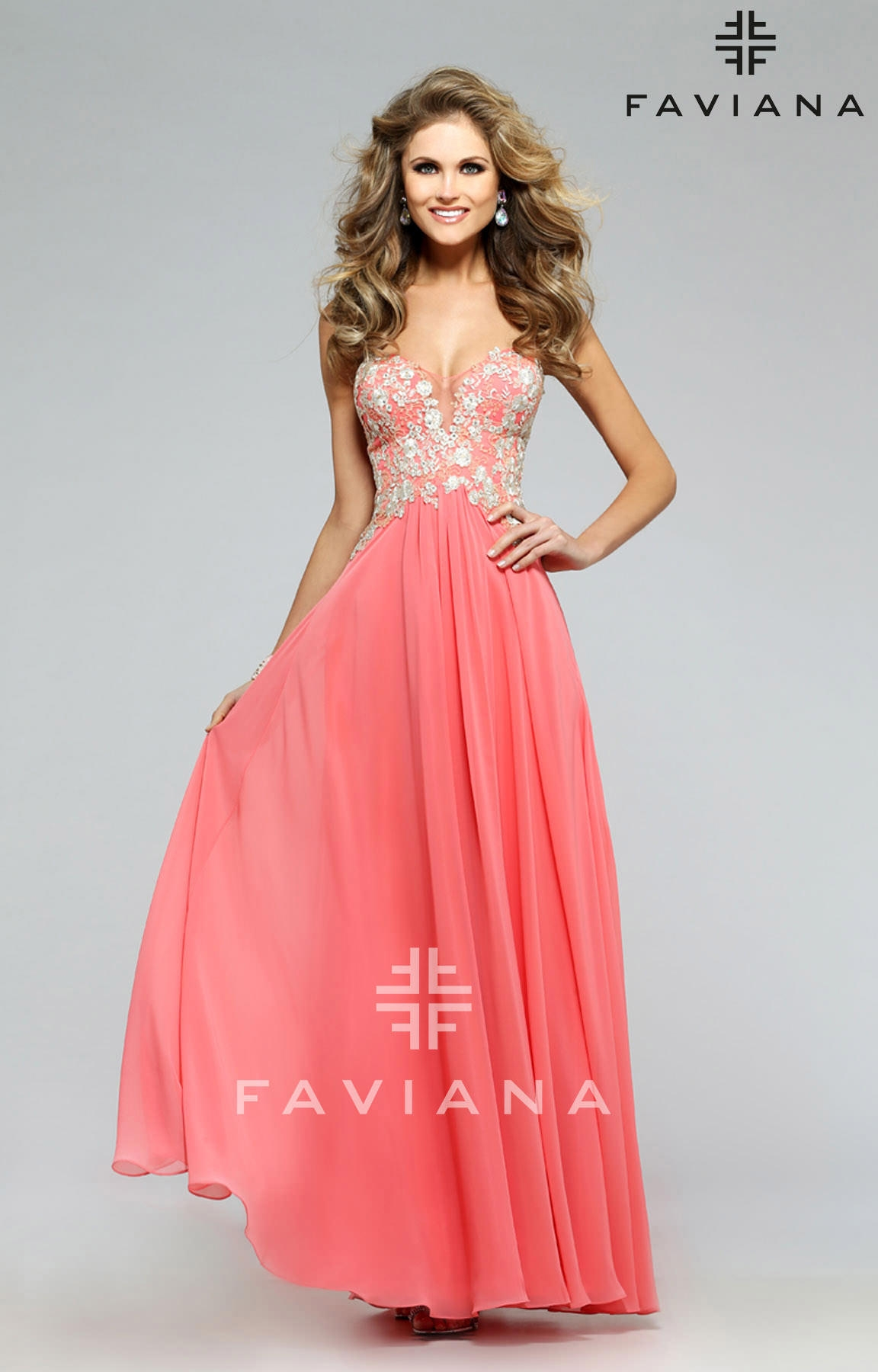 Faviana S7325 The Only Exception Dress Prom Dress