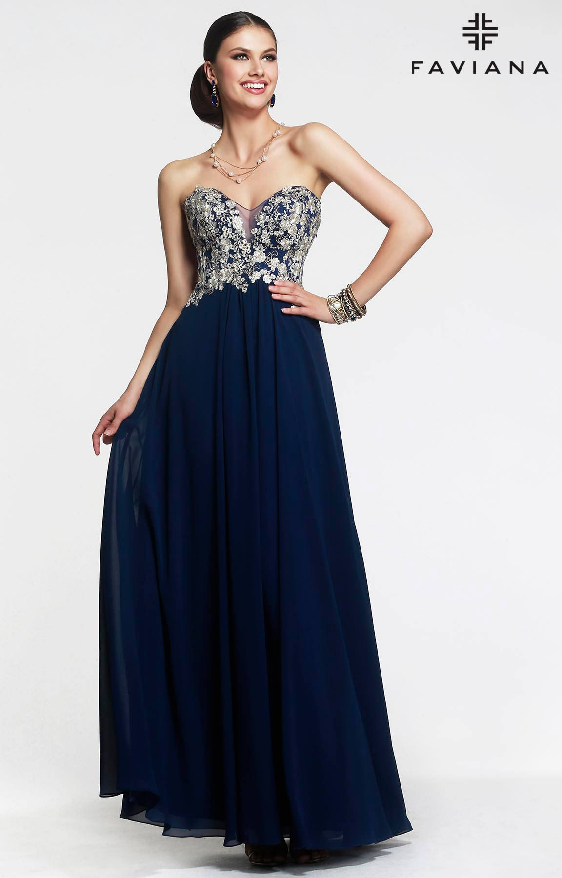 Faviana S7325 - The Only Exception Dress Prom Dress