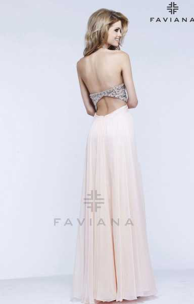 Faviana S7376 Strapless and Sweetheart picture 1