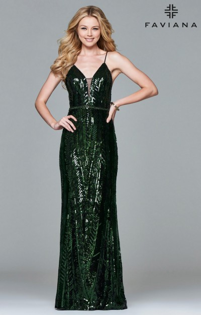Green Dresses - Prom- Formal- Evening - Lime Mint Emerald