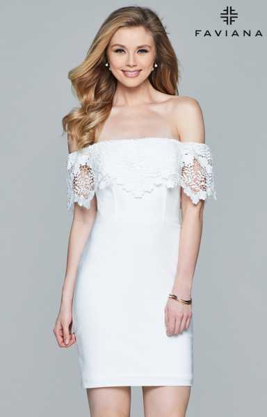 Faviana S8094 Off The Shoulder picture 1