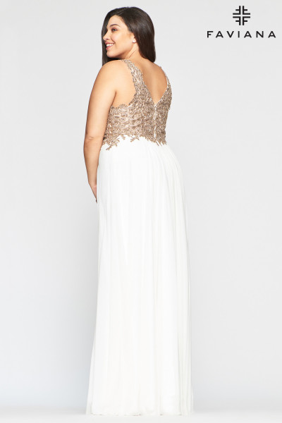 Faviana 9428 A-Line and Plus Size picture 2