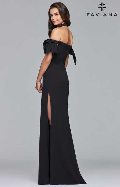 Faviana S10075 Has Straps and Off The Shoulder picture 1