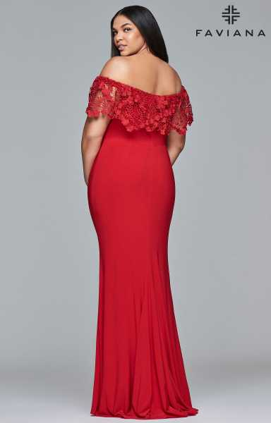 Faviana 9422 Off The Shoulder picture 1