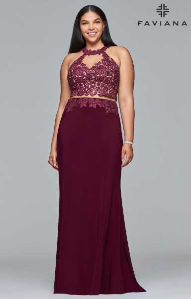 Faviana 9427 Fitted, Plus Size and Two Piece picture 2