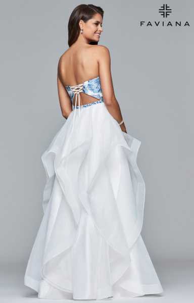 Faviana S10034 Strapless and Sweetheart picture 1