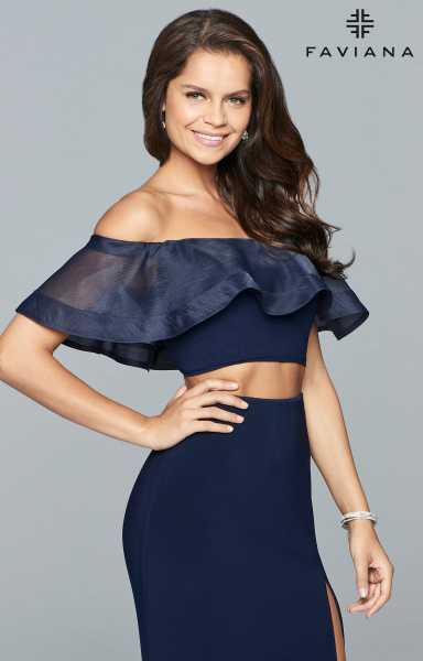 Faviana S10070 Off The Shoulder picture 1