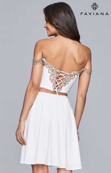 Faviana S10179 Off The Shoulder picture 1