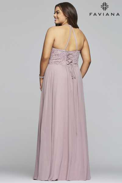 Faviana 9445 A-Line and Plus Size picture 2