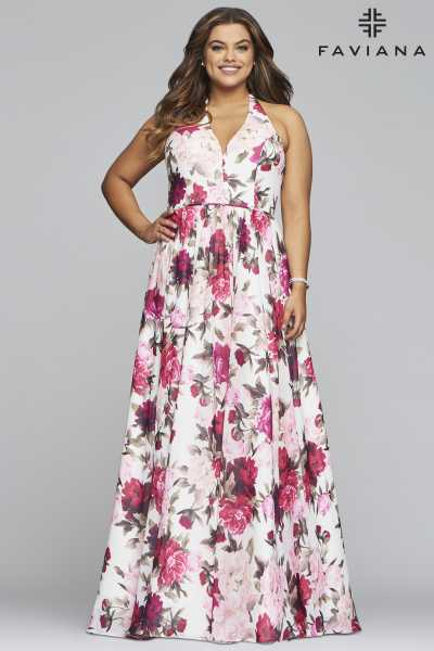Faviana 9468 A-Line and Plus Size picture 2