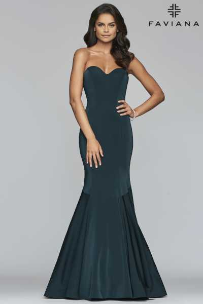 Faviana S10213 Strapless and Sweetheart picture 1