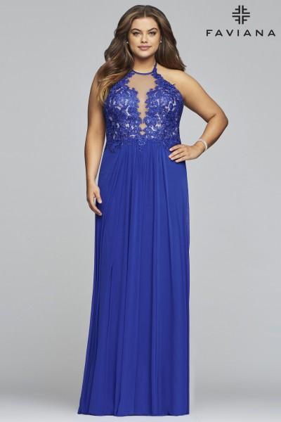 Plus Size Prom Dresses | Designer Formal Gowns