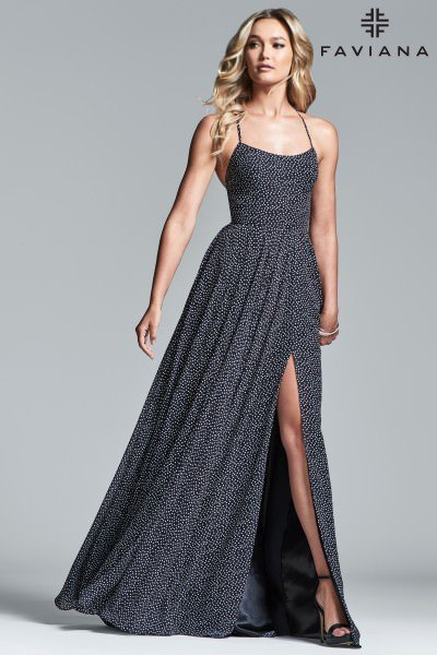 da7afff1ead Your Next Black and White Prom Dress