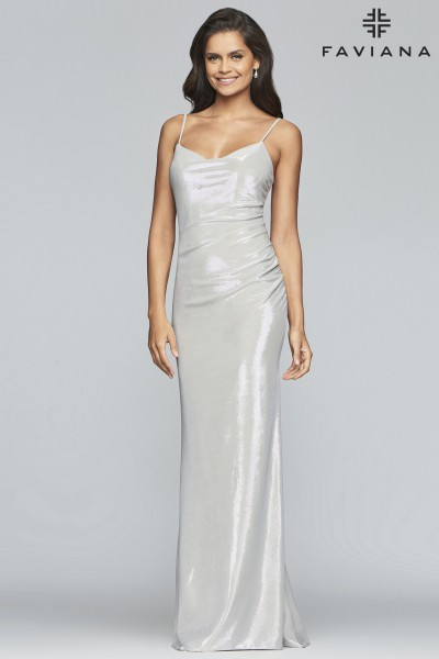 eb347fd575dd Formal High Slit Dress | Sexy Prom Dresses With Slits